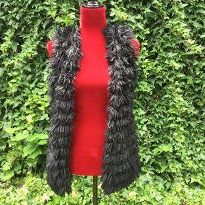 Daytrip Faux Fur Open Vest.